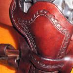Gun holster - detail