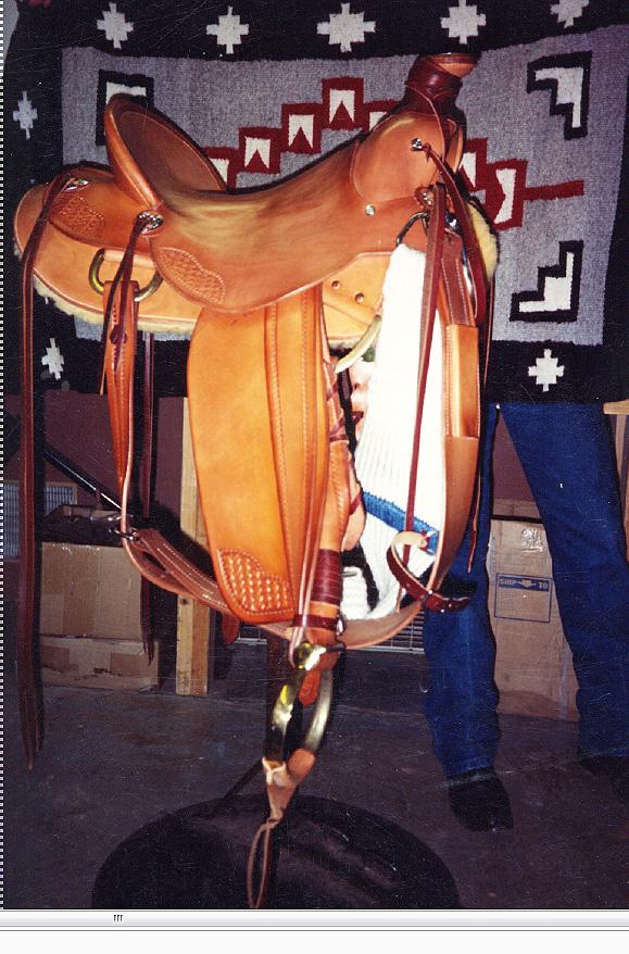 Custom Western Saddles   O W  Saddles