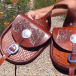 Custom saddle bags